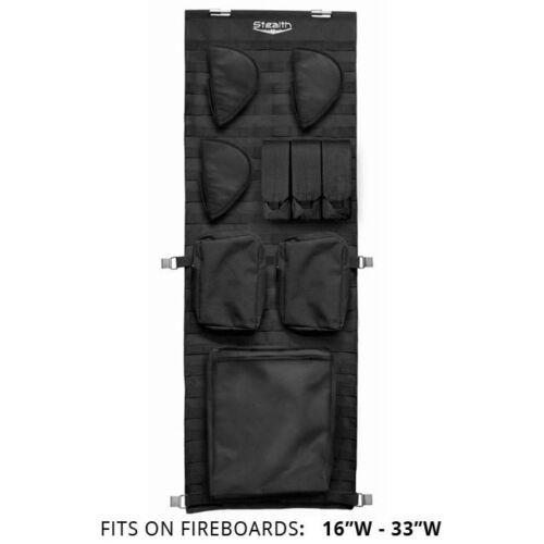Stealth Molle Gun Safe Door Organizer Pistol Kit Customizable Storage Small