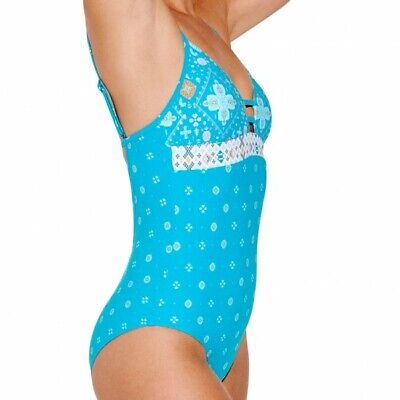 Seafolly One Piece Inka Gypsy Eden Xtra-life Chlorine Resist Sustainable (Chlorine Resistant Fabric)