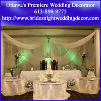 Wedding Decoration in Ottawa - Call us - No Obligations