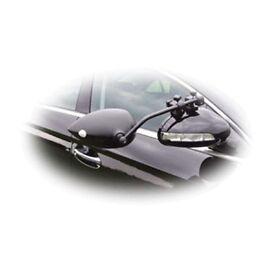 Milenco Aero Flat Glass Towing Mirrors with bag .caravan mirrors