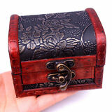 Handmade Classic Wood Jewelry Gift Box case for Necklace Bracelet Earrings Ring