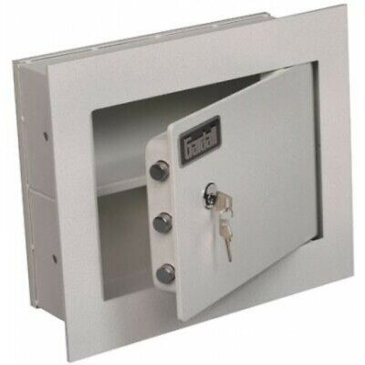 Gardall WS1317K Wall Safe with 1 inch Flange and Key Lock Gardall Wall Safe