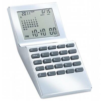 Natico Originals 10-WT1350 Wt-Alm- Calendar-Calc- Sil