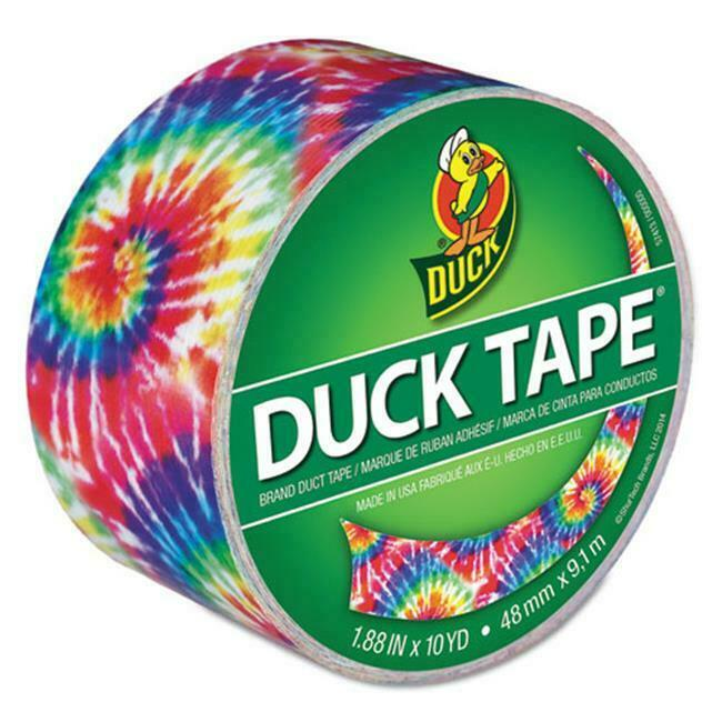 Duck 283268 Colored Duct Tape Love Tie Dye