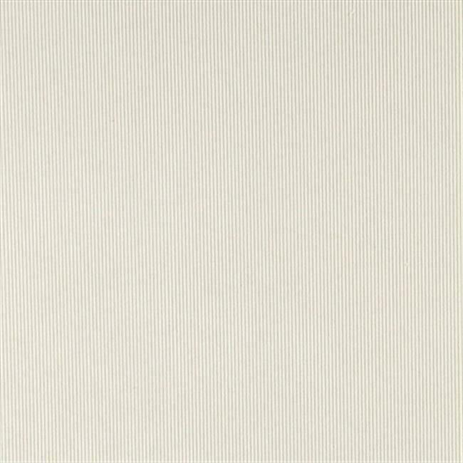 Designer Fabrics C188 54 in. Wide Off White Thin Solid Corduroy Striped Uphol...
