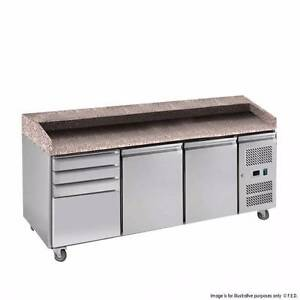 Commercial Pizza & Prep Fridges PZ2610TN 2 door with 4-drawers Ma Perth Perth City Area Preview