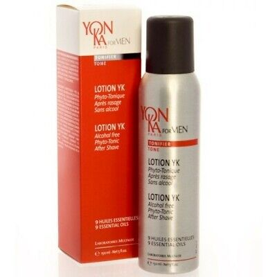 Yonka For Men Lotion YK  PHYTO-TONIC after shave - 5 oz / 150 ml   (Exp 08/2020)