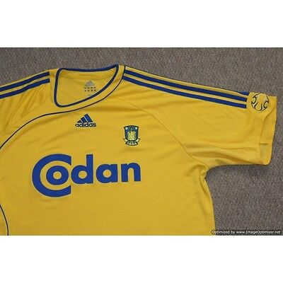 Brondby IF Adidas 2006-2008 Home Football Shirt X-Large XL