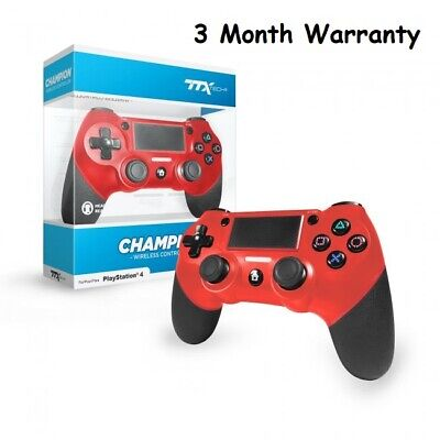 TTX Tech CHAMPION Wireless Controller for PS4 Red