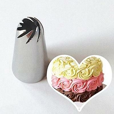 Drop Flower Icing Piping Tips Nozzle Cake Cupcake Decorating Pastry Baking Tools