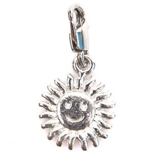 50pcs-220014-Smile-Sunflower-Clip-on-Charms-Lobster-Clasp-Beads-Pendants-30mm