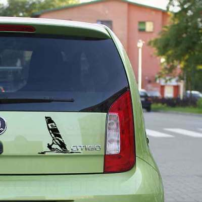 Windsurfing Car Sticker , Freestyle/Formula windsurfing Vinyl Decal