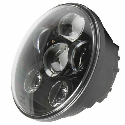 5 3/4 INCH LED HEADLAMP HEADLIGHT INSERT. BLACK. SUIT HARLEY VICTORY BOBBER