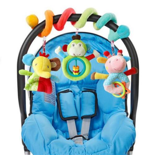 Infant Babyplay Baby Hanging Toys Activity Spiral Bed Stroll