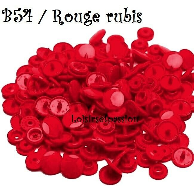 Couleur B54 / ROUGE RUBIS