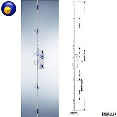 Mehrfachverriegelung GU Secury R4 mit 4 Rollenzapfen 65 Dorn, 92PZ Stulp F 16 mm
