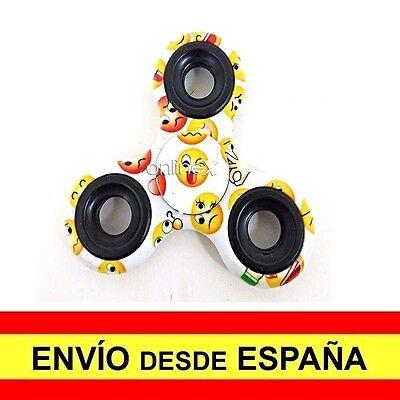 Peonza Dedos SPINNER Fidget Juguete Entretenimiento Antiestres Emoticonos a2717