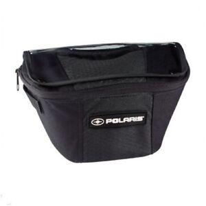 Polaris-New-OEM-Pro-Ride-Rush-Riser-Handlebar-Bag-Luggage-Storage-Pouch-2877795