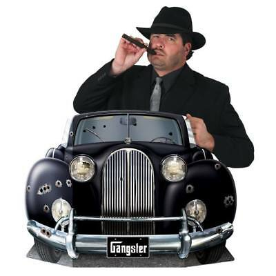 Gangster Car Photo Prop 1920's Gatsby Scene Props Party Decorations Roaring - 1920s Props