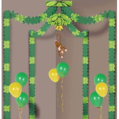 Jungle Monkey Party Canopy 20- x 20' Safari Jungle Zoo Birthday Party