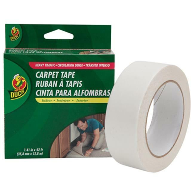 Duck 442060 1.41 x 42 in. Cloth Carpet Tape