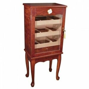 Large Cigar Cabinet Humidor - Holds up to 600 cigars