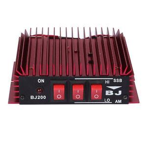 BJ-200 HF 3-30MHZ Linearverstärker Amateurfunk-Verstärker AM/FM SSB RF Linear CE