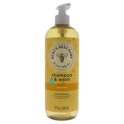 Burt's Bees Baby Shampoo & Wash, Original Tear Free Baby Soa
