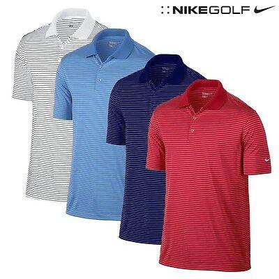 Mini Striped Polo Shirt - NIKE Victory Mini Stripe Golf Polo Shirt  Men Size SMALL MSRP $55 NOW $29.99