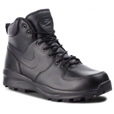 Nike Manoa Leather 454350 700 Scarpe Uomo Stringate Alte Giallo