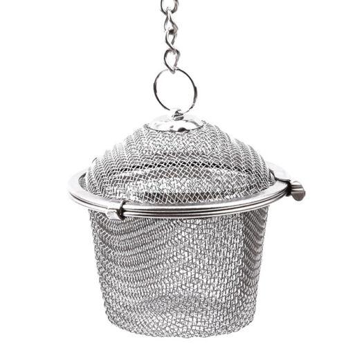Stainless Steel Tea Infuser Loose Leaf Strainer Herbal Spice Filter Steepers S