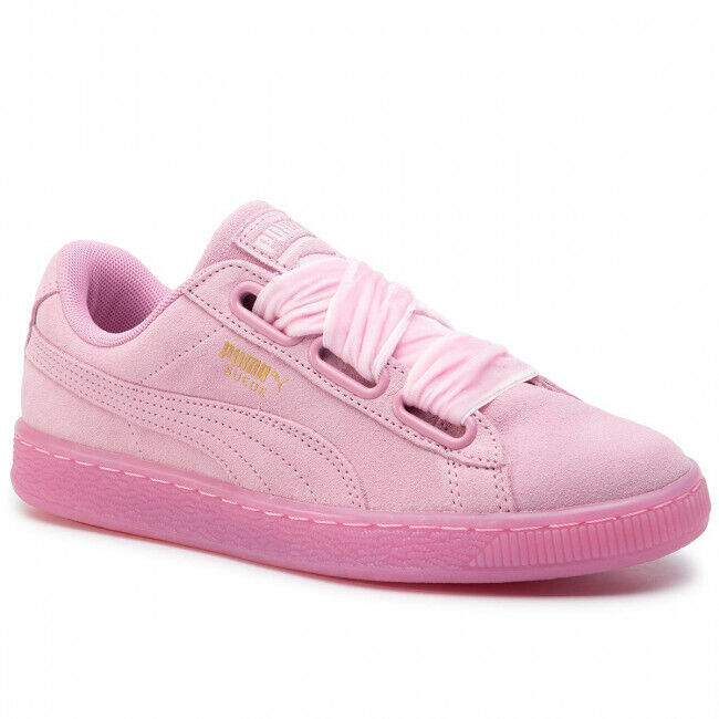 Suede Heart Reset Sneaker Pink | Zapatos nike | Rosa schuhe