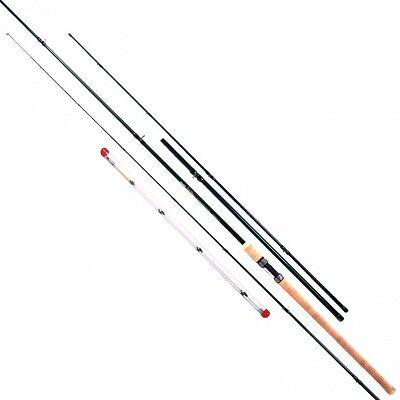 NEW Masterline Rovex John Wilson Deluxe 11-13ft Avon Quiver Fishing Rod - 10521