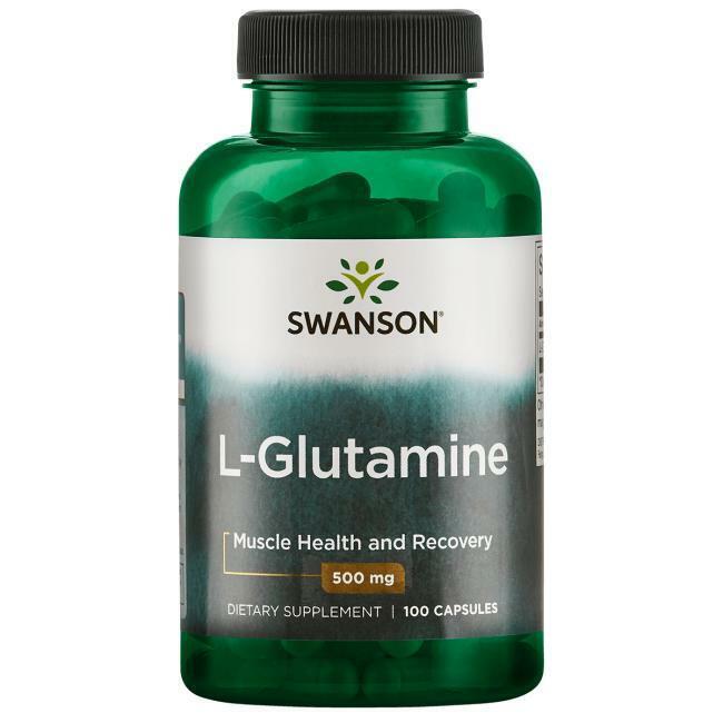 Swanson L-Glutamine - 500 mg 100 Caps