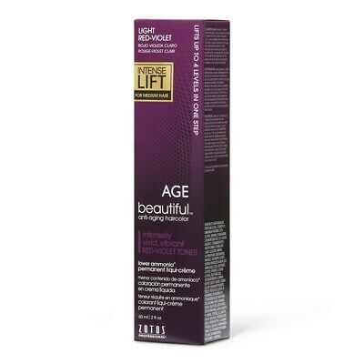 AGEbeautiful Light Red Violet Intense Lift Permanent Hair Color 2 BOX