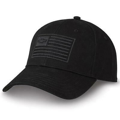 Chevy Truck 100 Year Bowtie Twill Centennial Black Vent Hat Silverado Cap Cotton - Truck Hats