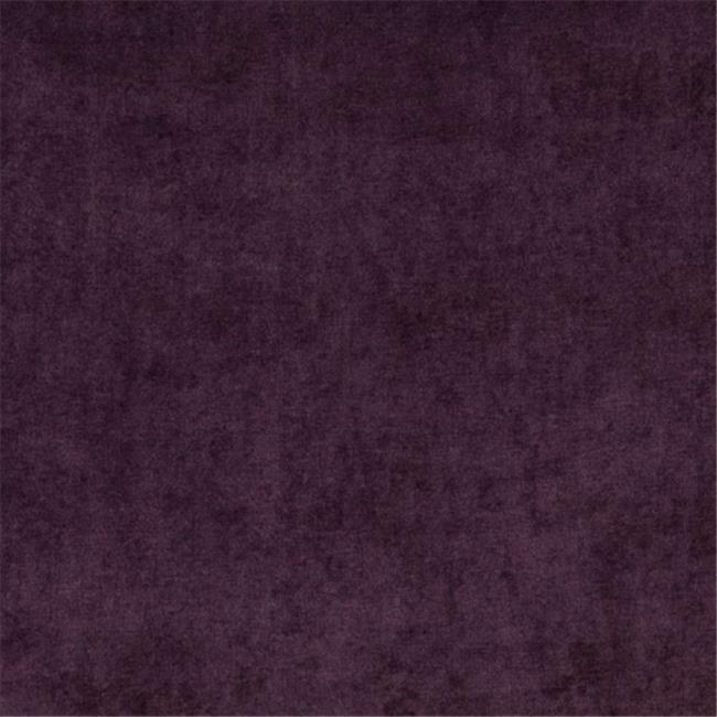 Designer Fabrics D240 54 in. Wide Purple Solid Woven Velvet Upholstery Fabric