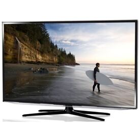 """Samsung 55"""" **REDUCED**Series 6 3D Full HD LED TV UE55F6400AK Immaculate condition w remote/stand"""