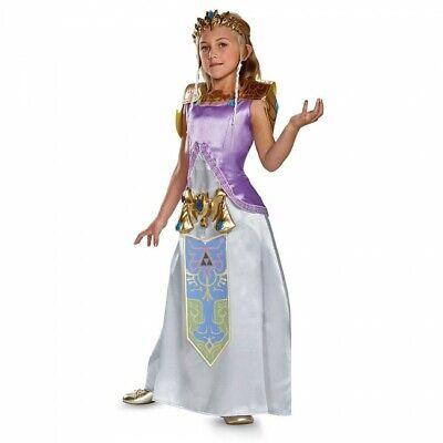 Disguise die Legende von Zelda Prinzessin Deluxe Kinder Halloween Kostüm - Prinzessin Zelda Kostüm Kind