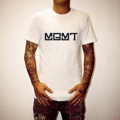 New   Mgmt Management Classic Band Logo T Shirt   S   Xxxl    You Pick Colors