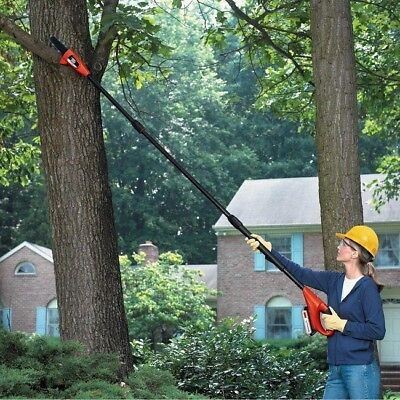 Black & Decker Electric Tree (Electric Pole Saw Telescoping Telescopic Chain Saws Cordless Garden Tree Trimmer )