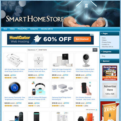 Smart Home - Ready-to-go Dropship Website Your Online Business Runs Automatic