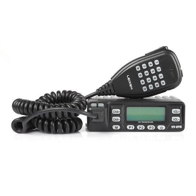 Leixen VV-898 Dual Band 136-174/400-470MHz Mini Car Mobile Radio Transceiver US