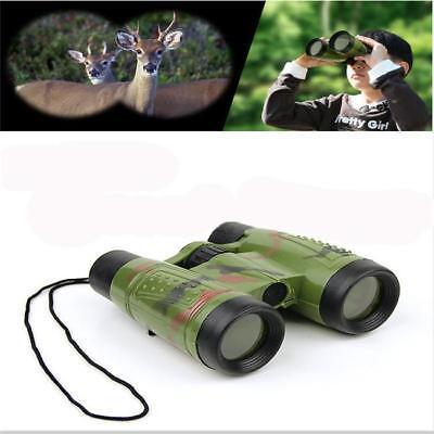 Outdoor Travel Folding Camouflage Binoculars Telescope for Kids Toy Children G (Telescopes For Kids)
