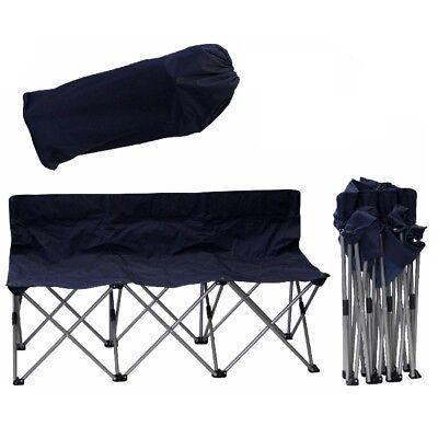 Camping Bel Sol 3er Faltbank Faltstuhl Campingstuhl Sta… |