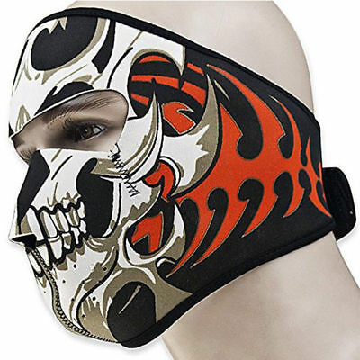 Skeleton Riding Mask (Skeleton Skiing Ride Fish Bone Protection Warm and Windproof Mask Outdoor)