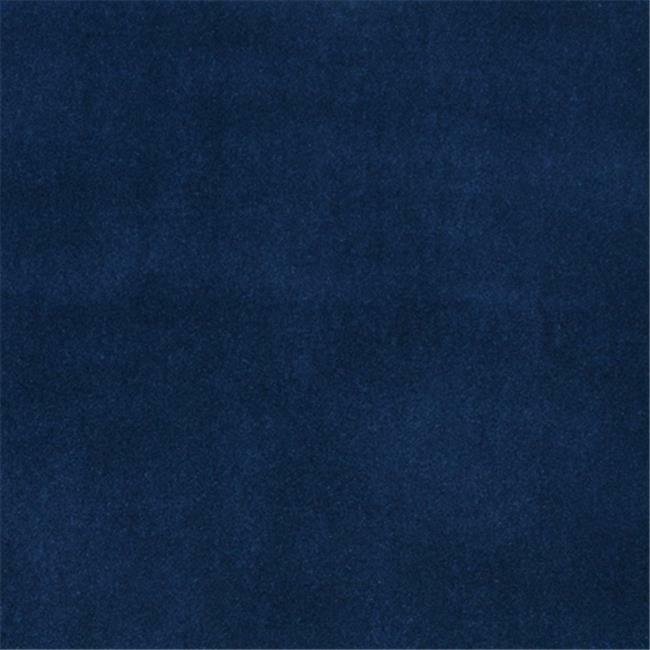 Designer Fabrics C857 54 in. Wide Blue Solid Plain Velvet Automotive Resident...