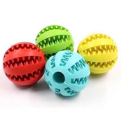 US Stock! Durable Dog Ball Toys for Aggressive Chewers Teeth