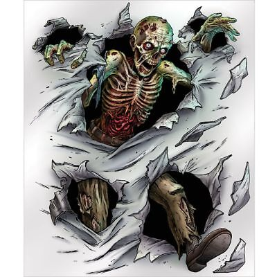 Zombie Insta Wall Mural Halloween Party Decorations Supplies