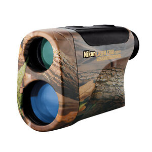 Nikon MONARCH Gold Laser1200 Rangefinder - Team REALTREE Hardwoods Green - 8359